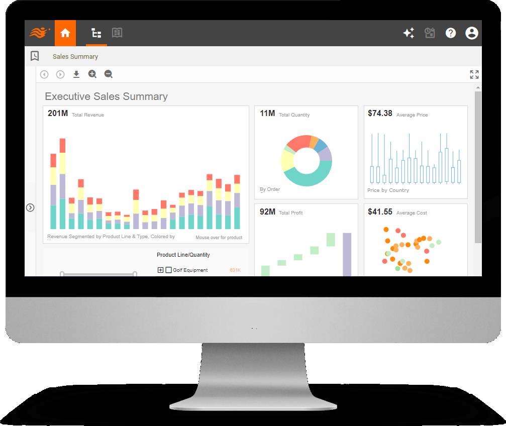 dashboard definition example